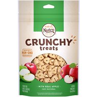 Nutro Crunchy with Real Apple Dog Treats, 10-oz bag