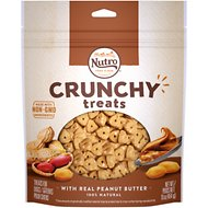 Nutro Crunchy with Real Peanut Butter Dog Treats, 16-oz bag