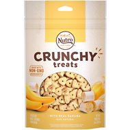 Nutro Crunchy with Real Banana Dog Treats, 10-oz bag