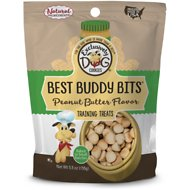 Exclusively Dog Best Buddy Bits Peanut Butter Flavor Dog Treats, 5.5-oz bag