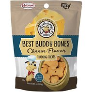 Exclusively Dog Best Buddy Bones Cheese Flavor Dog Treats, 5.5-oz bag