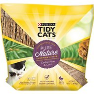 Tidy Cats Pure Nature Scented Clumping Wood Cat Litter, 7.5-lb bag