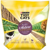 Tidy Cats Pure Nature Scented Clumping Wood Cat Litter, 12-lb bag