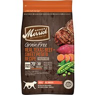 Merrick Grain-Free Real Texas Beef & Sweet Potato Recipe Dry Dog Food, 12-lb bag