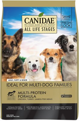 7. Canidae All Life Stages Multi-Protein Formula Dry Dog Food