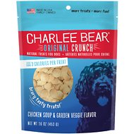 Charlee Bear Chicken Soup & Garden Veggie Flavor Dog Treats