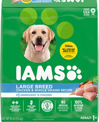 5. Iams ProActive Health Adult Large Breed Dry Dog Food