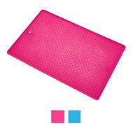 Dexas Popware for Pets Pet Bowl Grippmat, Pink, Small