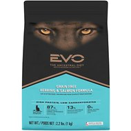 EVO Grain Free Herring & Salmon Formula Cat & Kitten Food, 2.2-lb bag