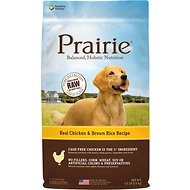 Nature's Variety Prairie Real Chicken & Brown Rice Recipe Natural Dry Dog Food, 4.5-lb bag
