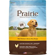 Nature's Variety Prairie Real Chicken & Brown Rice Recipe Natural Dry Dog Food, 27-lb bag