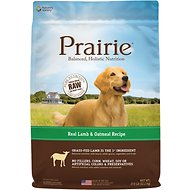Nature's Variety Prairie Real Lamb & Oatmeal Recipe Natural Dry Dog Food, 27-lb bag