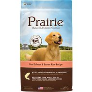 Nature's Variety Prairie Real Salmon & Brown Rice Recipe Natural Dry Dog Food, 4.5-lb bag