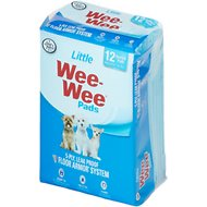 "Wee-Wee Housebreaking Pads for Little Dogs, 16.5"" x 23.5"", 12 count"