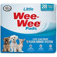 "Wee-Wee Housebreaking Pads for Little Dogs, 16.5"" x 23.5"", 28 count"