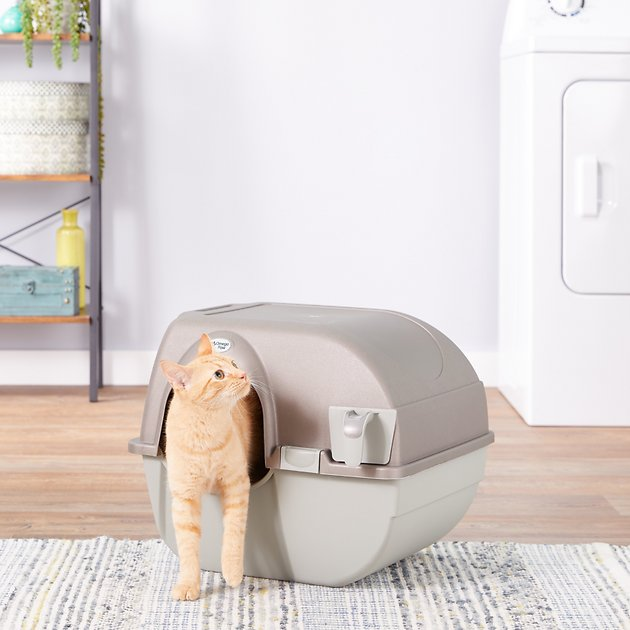 4. Omega Paw Self-Cleaning Litter Box