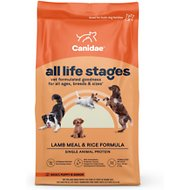 CANIDAE All Life Stages Lamb Meal & Rice Formula Dry Dog Food, 30-lb bag