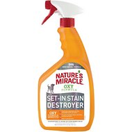 Nature's Miracle Oxy Pet Stain & Odor Remover, 32-oz bottle