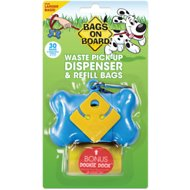 Bags on Board Bone Dispenser, Black, 1 dispenser, 30 bags