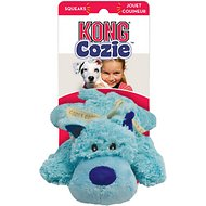 KONG Cozie Baily the Blue Dog Toy