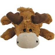 KONG Cozie Marvin the Moose Dog Toy, Medium