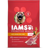 Iams ProActive Health Adult Lamb Meal & Rice Formula Dry Dog Food, 26.2-lb bag