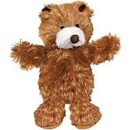 KONG Plush Teddy Bear Dog Toy, X-Small