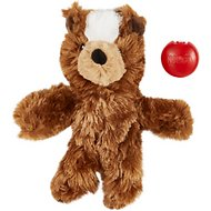 KONG Plush Teddy Bear Dog Toy, Medium