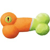 KONG AirDog Off/On Squeaker Bone Dog Toy, Color Varies, Small