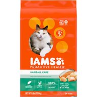 Iams ProActive Health Adult Hairball Care Dry Cat Food, 16-lb bag