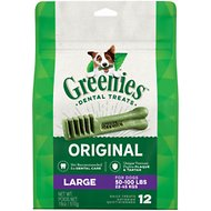 Greenies Large Dental Dog Treats, 12 count