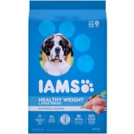 Iams ProActive Health Adult Healthy Weight Large Breed Dry Dog Food, 15-lb bag