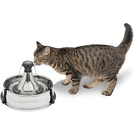 Drinkwell 360 Stainless Steel Pet Fountain, 1-gallon