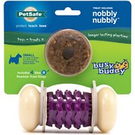 Busy Buddy Nobbly Nubbly Treat Dispenser Tough Dog Chew Toy