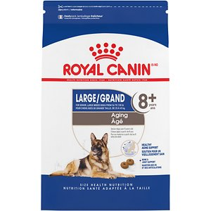 Royal Canin Size Health Nutrition Large Aging 8+ Dry Dog Food, 30-lb bag