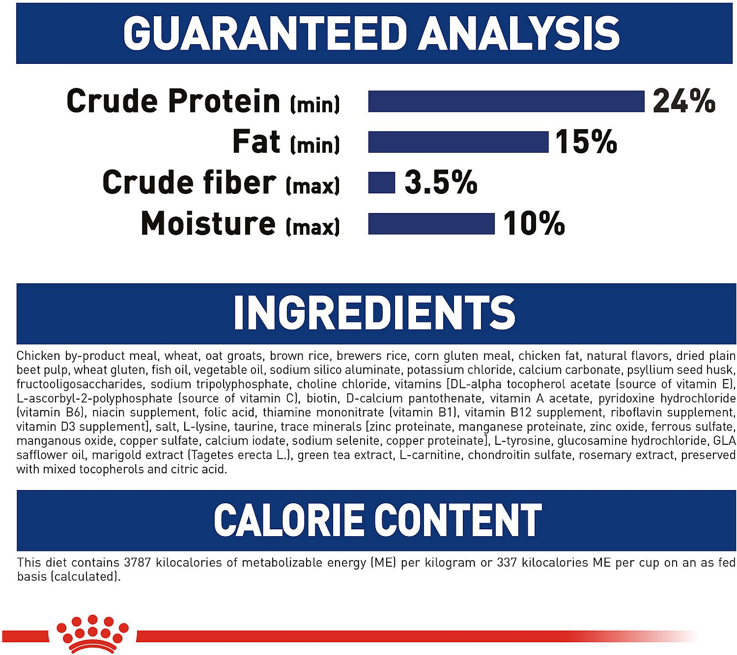 Royal Canin Size Health Nutrition Large Adult 5 Dry Dog Food 30 Lb
