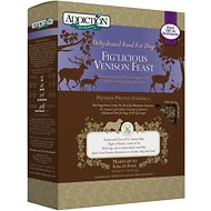 Addiction Grain-Free Fig'Licious Venison Feast Raw Dehydrated Dog Food, 2-lb box
