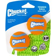 Chuckit! Tennis Ball, Small, 2 pack