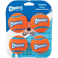 Chuckit! Tennis Ball, Medium, 4 pack