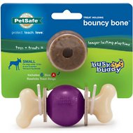 Busy Buddy Bouncy Bone Dog Toy, Small