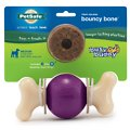 Busy Buddy Bouncy Bone Treat Dispenser Tough Dog Chew Toy