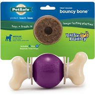 Busy Buddy Bouncy Bone Dog Toy, Medium