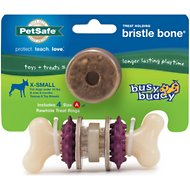 Busy Buddy Bristle Bone Dog Toy, X-Small