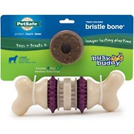 Busy Buddy Bristle Bone Dog Toy, Large