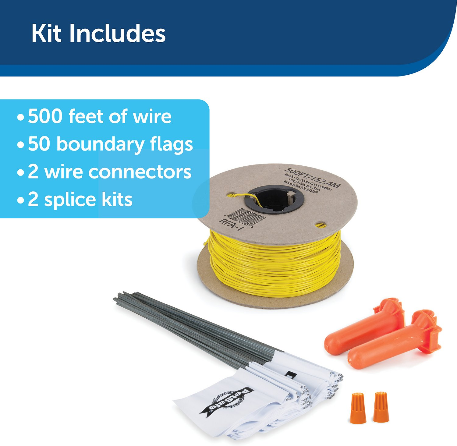 PetSafe Extra Wire & Flag Kit - Chewy.com