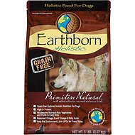 Earthborn Holistic Primitive Natural Grain-Free Natural Dry Dog Food, 5-lb bag
