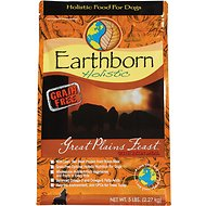 Earthborn Holistic Great Plains Feast Grain-Free Natural Dry Dog Food, 5-lb bag