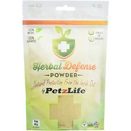 PetzLife Herbal Defense Dog & Cat Tick Treatment Powder, 4-oz jar