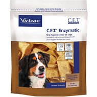 Virbac C.E.T. Enzymatic Oral Hygiene Dog Chews, X-Large