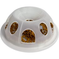 Pioneer Pet Plastic Portion Control Food Dish, Natural